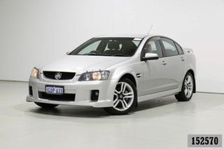2008 Holden Commodore VE MY08 SV6 Silver 6 Speed Manual Sedan.