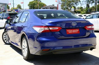 2019 Toyota Camry ASV70R Ascent Lunar Blue 6 Speed Automatic Sedan.