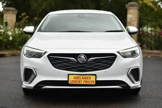 2018 Holden Commodore ZB MY18 RS Liftback AWD White 9 Speed Sports Automatic Liftback.