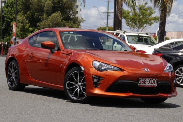 Pre-Owned Toyota 86 ZN6 GTS Upper Mount Gravatt, 2016 Toyota 86 ZN6 GTS Orange 6 Speed Manual Coupe