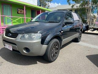 2006 Ford Territory SY TX (RWD) Black 4 Speed Auto Seq Sportshift Wagon