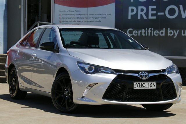 Pre-Owned Toyota Camry ASV50R RZ Guildford, 2017 Toyota Camry ASV50R RZ Silver 6 Speed Sports Automatic Sedan