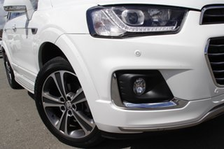 2016 Holden Captiva CG MY16 LTZ AWD Summit White 6 Speed Sports Automatic Wagon.
