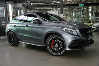 2017 Mercedes-Benz GLE-Class C292 MY808 GLE63 AMG Coupe SPEEDSHIFT PLUS 4MATIC S Grey 7 Speed.