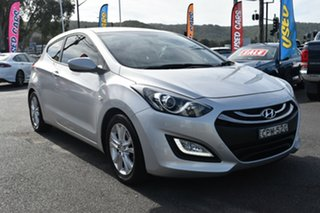 2013 Hyundai i30 GD SE Coupe Silver 6 Speed Sports Automatic Hatchback.