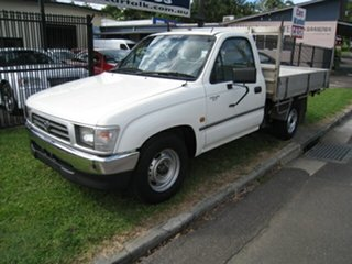 1998 Toyota Hilux RZN149R White 5 Speed Manual Pickup.