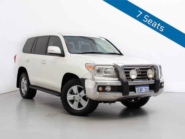 Used Toyota Landcruiser VDJ200R MY12 VX (4x4), 2013 Toyota Landcruiser VDJ200R MY12 VX (4x4) White 6 Speed Automatic Wagon