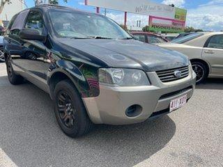 2006 Ford Territory SY TX (RWD) Black 4 Speed Auto Seq Sportshift Wagon.