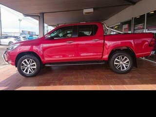 2015 Toyota Hilux GUN126R SR5 (4x4) Olympia Red 6 Speed Manual Dual Cab Utility