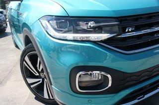 2020 Volkswagen T-Cross C1 MY21 85TSI DSG FWD Style Reef Blue Metallic 7 Speed.
