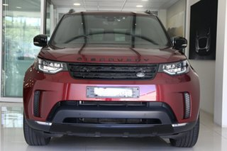 2017 Land Rover Discovery Series 5 L462 MY17 HSE Red 8 Speed Sports Automatic Wagon