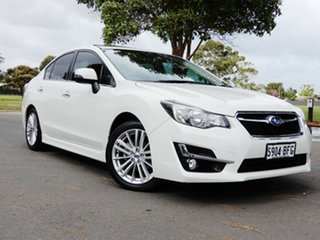 2015 Subaru Impreza G4 MY15 2.0i-S Lineartronic AWD White 6 Speed Constant Variable Sedan.