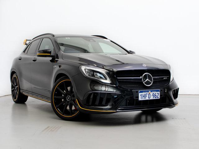 Used Mercedes-AMG GLA 45 AMG 4MATIC X156 MY17.5 , 2017 Mercedes-AMG GLA 45 AMG 4MATIC X156 MY17.5 Black 7 Speed Auto Dual Clutch Wagon