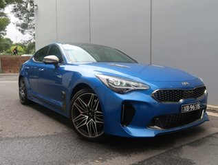 2020 Kia Stinger CK MY21 GT Fastback Blue 8 Speed Sports Automatic Sedan.