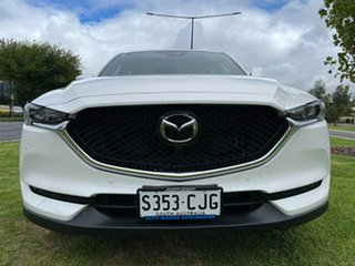 2019 Mazda CX-5 KF4WLA Akera SKYACTIV-Drive i-ACTIV AWD White/brown Nappa Leather 6 Speed.