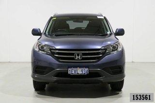 2014 Honda CR-V 30 MY14 VTi (4x4) Blue 5 Speed Automatic Wagon.