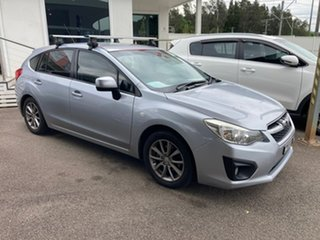 2014 Subaru Impreza G4 MY14 X AWD Silver 6 Speed Manual Hatchback.