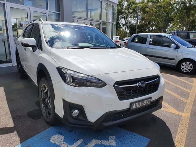Used Subaru XV G5X MY18 2.0i-S Lineartronic AWD Epsom, 2018 Subaru XV G5X MY18 2.0i-S Lineartronic AWD White 7 Speed Constant Variable Wagon