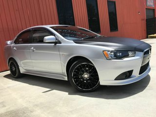 2014 Mitsubishi Lancer CJ MY14.5 ES Sport Silver 5 Speed Manual Sedan.