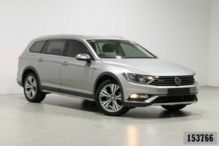 2016 Volkswagen Passat 3C MY16 Alltrack 140 TDI Silver 6 Speed Direct Shift Wagon.