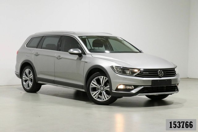 Used Volkswagen Passat 3C MY16 Alltrack 140 TDI Bentley, 2016 Volkswagen Passat 3C MY16 Alltrack 140 TDI Silver 6 Speed Direct Shift Wagon