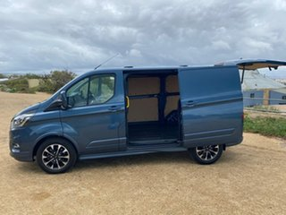 2019 Ford Transit Custom VN 2019.75MY 320S (Low Roof) Sport Blue 6 Speed Automatic Van