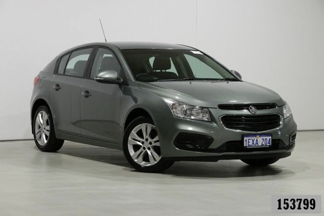 Used Holden Cruze JH MY15 Equipe Bentley, 2015 Holden Cruze JH MY15 Equipe Grey 6 Speed Automatic Hatchback