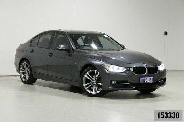 Used BMW 320i F30 Sport Line Bentley, 2013 BMW 320i F30 Sport Line Grey 8 Speed Automatic Sedan