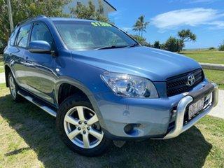 2007 Toyota RAV4 ACA33R CV Blue 5 Speed Manual Wagon.