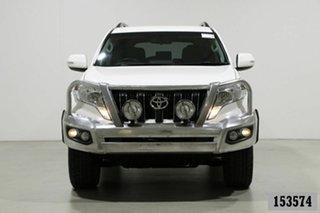 2017 Toyota Landcruiser Prado GDJ150R MY16 GXL (4x4) White 6 Speed Automatic Wagon.