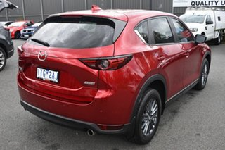 2017 Mazda CX-5 KF4W2A Maxx SKYACTIV-Drive i-ACTIV AWD Sport Red/Black 6 Speed Sports Automatic
