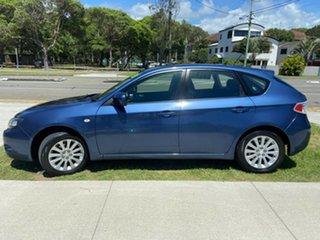 2010 Subaru Impreza G3 MY10 R AWD Blue 4 Speed Sports Automatic Hatchback.