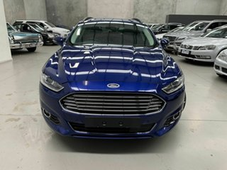 2016 Ford Mondeo MD Trend Blue 6 Speed Sports Automatic Dual Clutch Wagon.