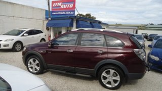 2011 Holden Captiva CG Series II 7 AWD LX Red 6 Speed Sports Automatic Wagon.