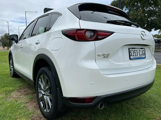 2019 Mazda CX-5 KF4WLA Akera SKYACTIV-Drive i-ACTIV AWD White/brown Nappa Leather 6 Speed