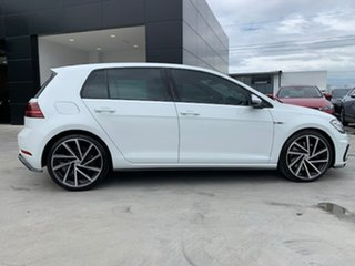 2017 Volkswagen Golf 7.5 MY18 R DSG 4MOTION White 7 Speed Sports Automatic Dual Clutch Hatchback.