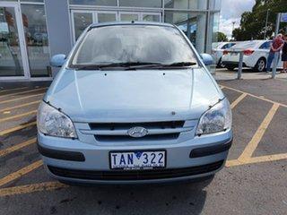 2004 Hyundai Getz TB MY04 XL Blue 4 Speed Automatic Hatchback.