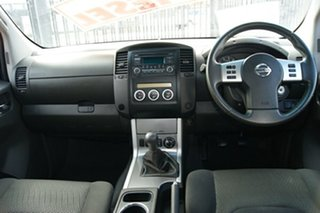 2014 Nissan Navara D40 MY12 Upgrade ST (4x4) Silver 6 Speed Manual Dual Cab Pick-up