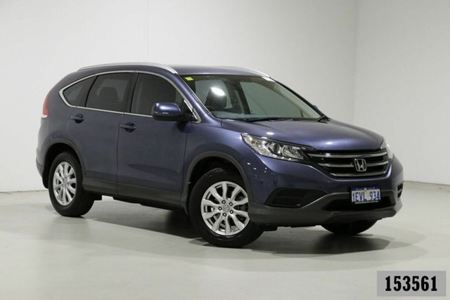 Used Honda CR-V 30 MY14 VTi (4x4) Bentley, 2014 Honda CR-V 30 MY14 VTi (4x4) Blue 5 Speed Automatic Wagon