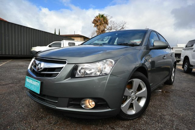 Used Holden Cruze JG CDX Blair Athol, 2010 Holden Cruze JG CDX Grey 6 Speed Automatic Sedan
