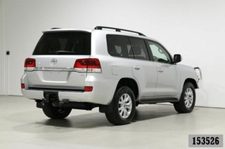2016 Toyota Landcruiser VDJ200R MY16 VX (4x4) Silver 6 Speed Automatic Wagon