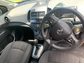 2011 Holden Barina TM Red 6 Speed Automatic Hatchback