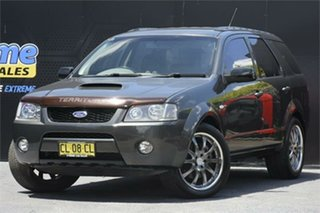 2006 Ford Territory SY Turbo AWD Grey 6 Speed Sports Automatic Wagon.