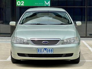 2002 Ford Fairmont BA Silver 4 Speed Automatic Sedan.