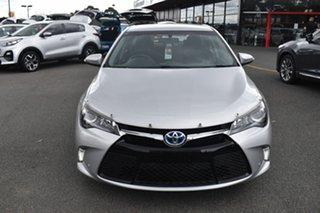 2017 Toyota Camry AVV50R Atara S Billet Silver 1 Speed Constant Variable Sedan Hybrid.