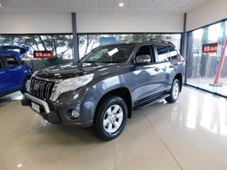 2016 Toyota Landcruiser Prado GDJ150R GXL Grey 6 Speed Sports Automatic Wagon