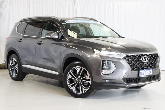 Used Hyundai Santa Fe TM.2 MY20 Highlander Wangara, 2019 Hyundai Santa Fe TM.2 MY20 Highlander Grey 8 Speed Sports Automatic Wagon