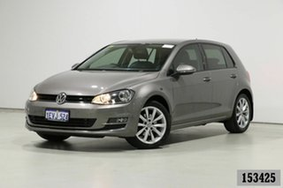 2015 Volkswagen Golf AU MY16 110 TSI Highline Grey 7 Speed Auto Direct Shift Hatchback.
