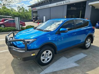 2018 Toyota RAV4 ASA44R GX AWD Blue 6 Speed Sports Automatic Wagon