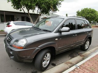 2009 Hyundai Tucson 08 Upgrade City SX Grey 4 Speed Automatic Wagon.